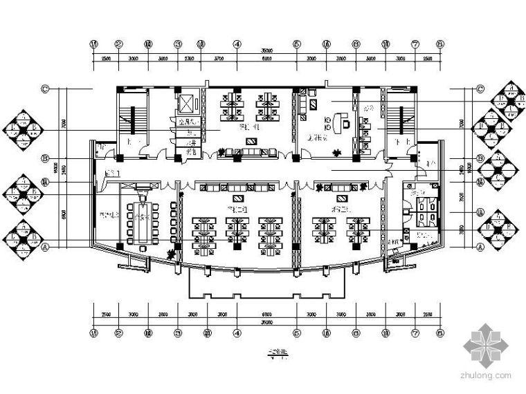 [深圳]某地税办公大楼装修图