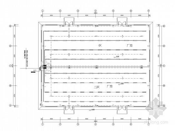 [郑州]小型厂房全套电气施工图纸