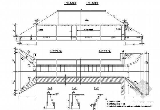 高速盖板涵和通道成套cad设计图纸