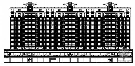 [怡丰都市]某广场商住楼建筑施工图