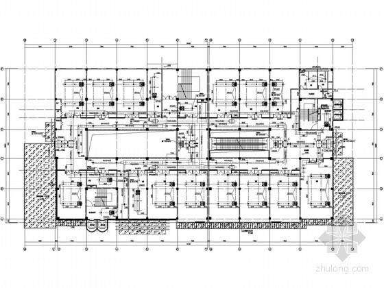 [成都]商业建筑空调通风设计图纸