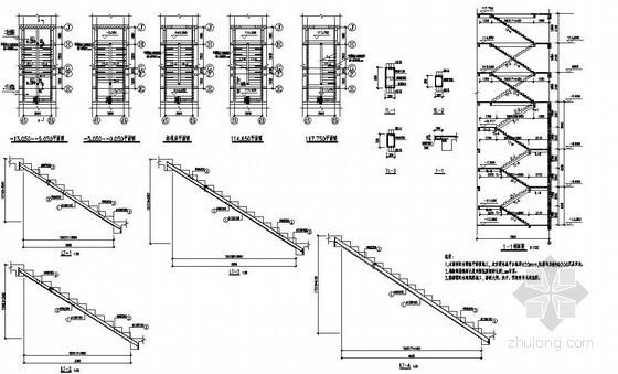 某住宅楼梯构造详图