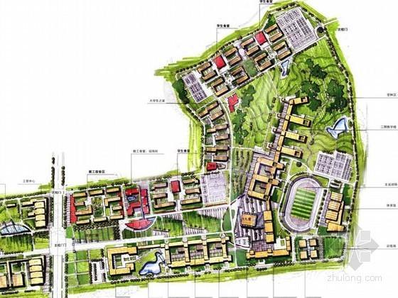 校园总体景观概念规划