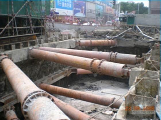 深基坑围护结构设计及计算