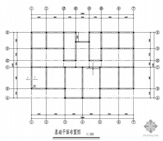 某2层砖混结构宿舍施工图