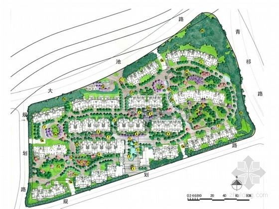 [无锡]英式小镇风情式社区景观设计方案