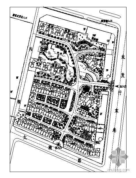 江苏国际公寓景观绿化工程