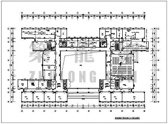 某预防中心综合业务楼给排水消防设计图