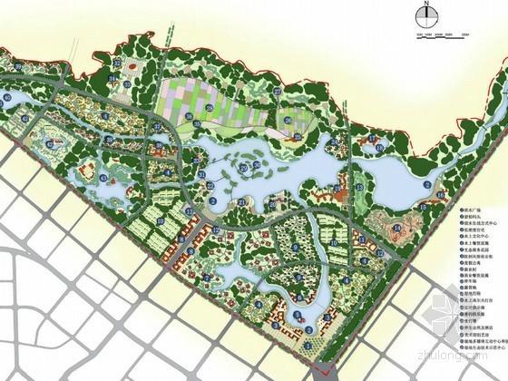 [成都]湿地旅游度假区规划方案