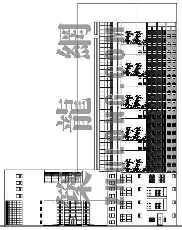 某宾馆建筑设计方案