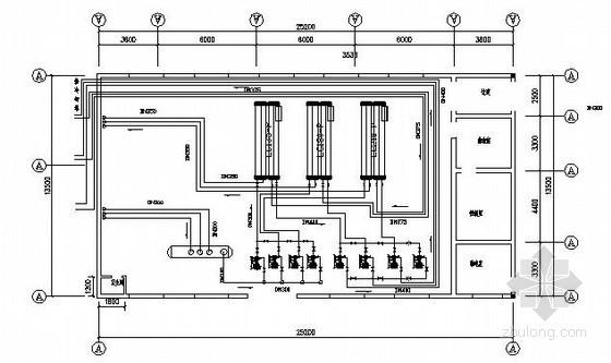 [上海]某大厦冷热源课程设计