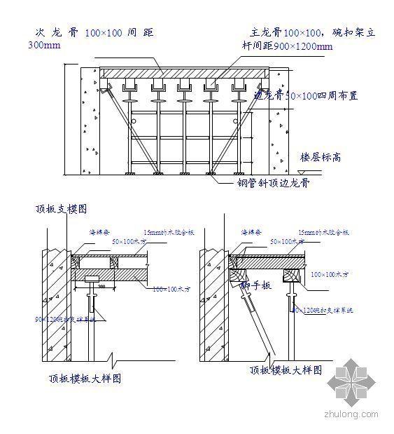 北京某高层住宅模板施工方案(钢大模板、木胶合板 计算)