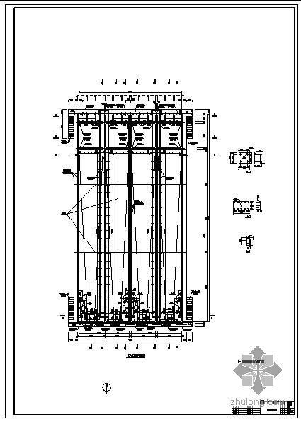 某10000吨污水处理站结构设计图