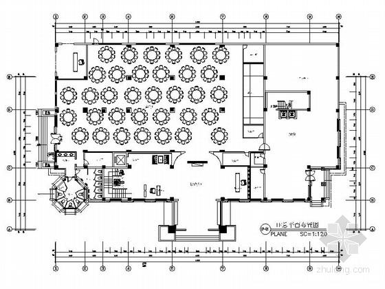 [成都]大型高档的餐饮休闲场所装修图(含效果)