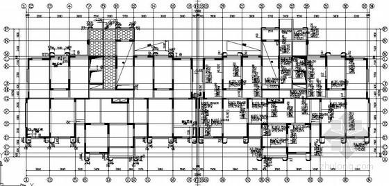 [湖南]25层现浇剪力墙住宅结构施工图