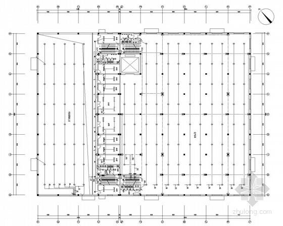 [黑龙江]生产车间展厅电气施工图(甲级院)