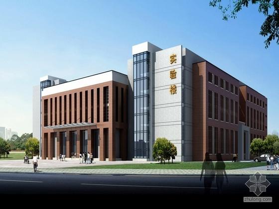 [武汉]某高校综合实验大楼设计方案