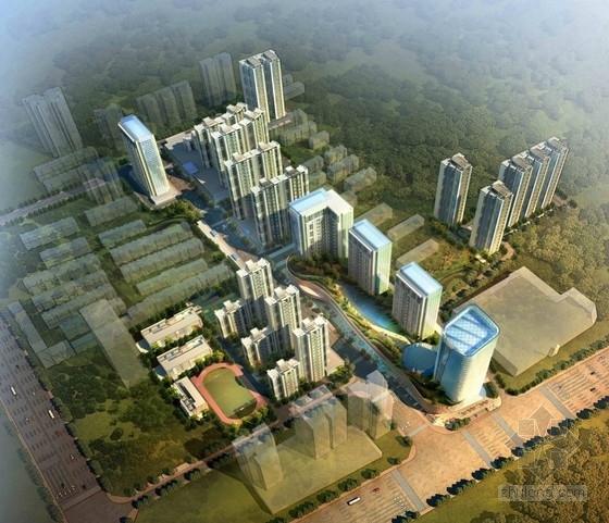 [西安]商业住宅改造规划及单体设计方案文本