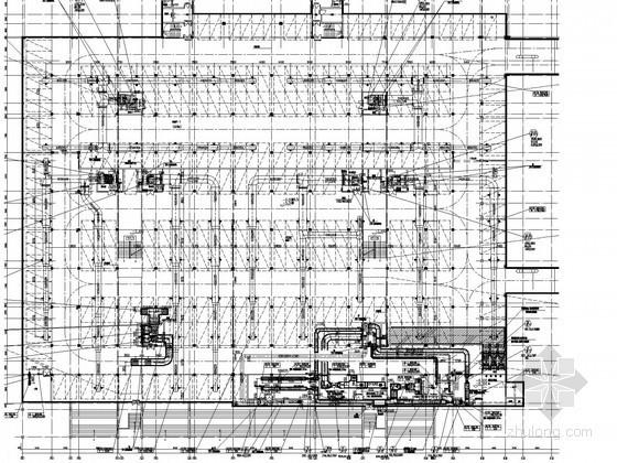 [广东]17栋办公建筑单体空调及通风排烟系统设计施工图(多联系统 动力燃气系统)