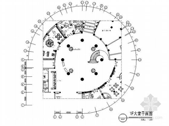 [南京]某时尚主题酒店室内装修图