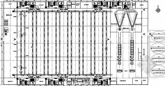 某厂房空调图纸资料下载-某厂房空调除尘图纸