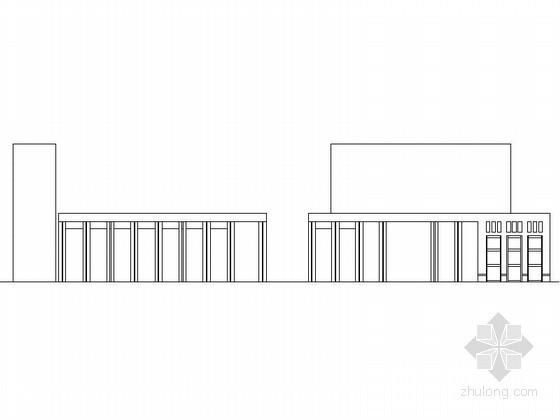 某三层政府行政办公楼建筑方案图(含效果图)