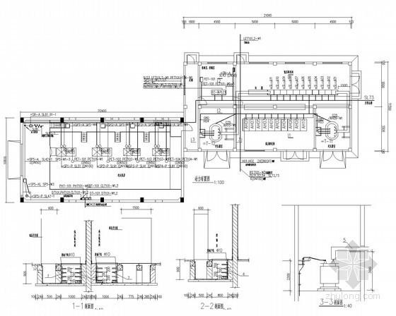 [安徽]自来水厂工程变配电及电气自动化系统图59张