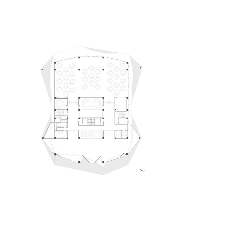 浮生御温泉度假村多功能综合建筑平面图(9)