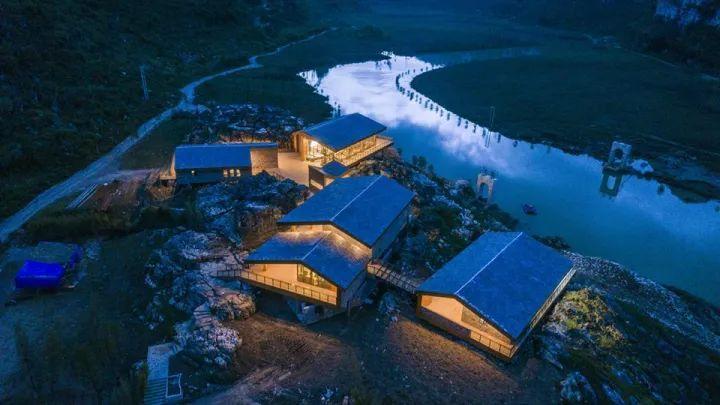 中国第一个百米崖壁上的美术馆!_24