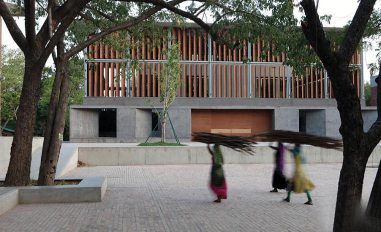 印度环境规划技术中心图书馆