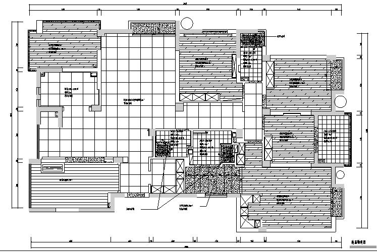 [浙江]现代中式样板房设计施工图(附效果图)