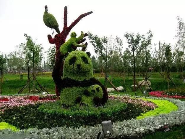80个极美植物雕塑_39
