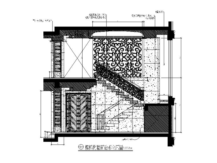 【北京】两套时尚经典别墅设计CAD施工图_6