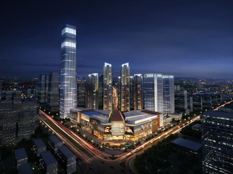 广西445米第一高楼南宁华润中心多项创新技术破难关!