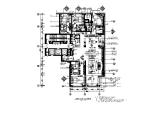 【北京】现代奢华样板间CAD施工图(含效果图图、实景图)