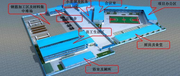 六盘水综合管廊PPP项目现场进展及质量安全汇报-办公区及生活区