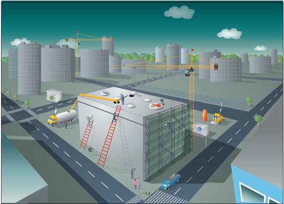 科技工业园项目幕墙工程安全专项施工方案(计算书、图文并茂)_1