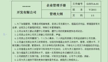 房地产企业管理制度手册(最全合集)