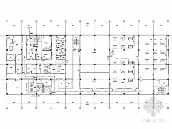 [湖南]制药厂建筑群给排水工艺施工图