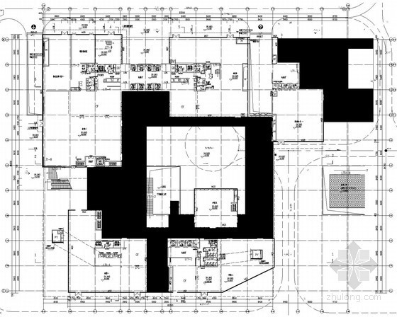 [广东]厂房食堂全套给排水消防施工图(系统全面 大空间智能灭火 雨水收集利用)
