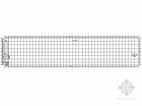 [无锡]钢框架商用汽车生产车间结构施工图