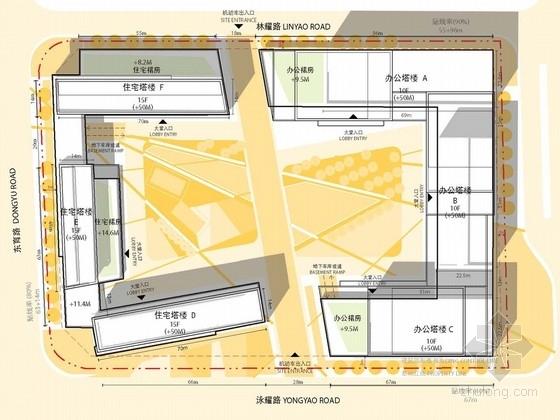 [上海]时尚新潮的商业居住区景观规划方案