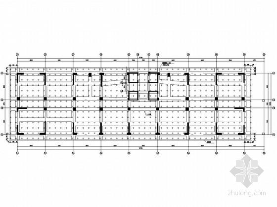 [西安]高度区大型框剪高层结构施工图175张(CFG桩加筏板基础)