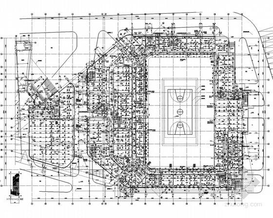 [江苏]体育中心给排水施工图纸(体育场、景观塔)
