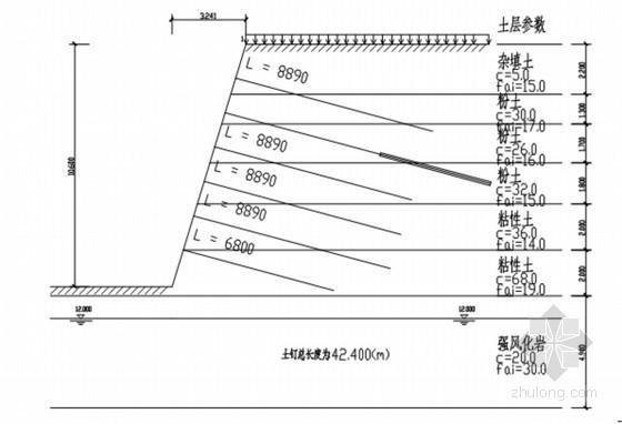 微型桩加锚索基坑支护专项方案(含设计计算书)