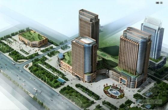 [山东]高层酒店和写字楼及科研楼与底商楼群全套结构施工图