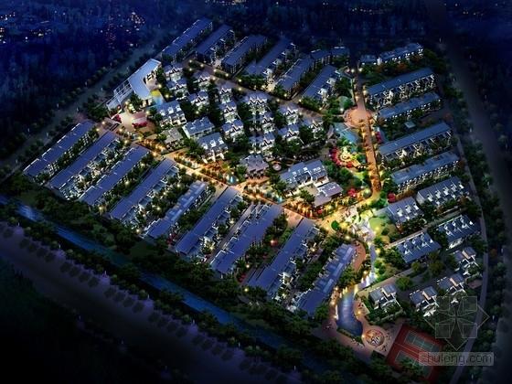 [南京]知名大学城地块高档住宅区规划设计方案文本(含CAD)
