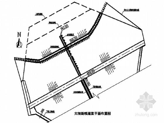 水库除险加固施工图设计(大坝、输水涵管)