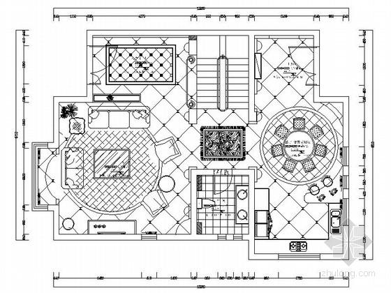 [湖南]市中心古典欧式三层别墅装修图(含实景)