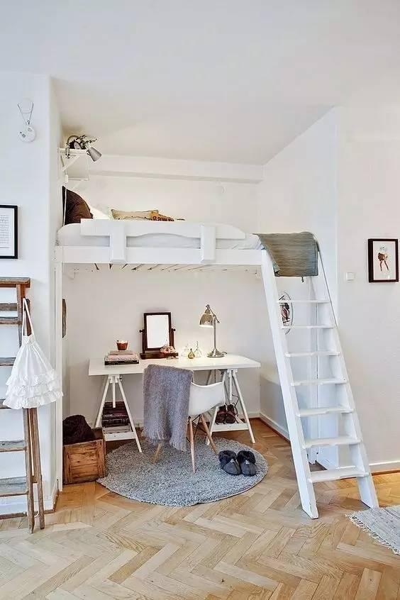 学建筑的你怎么能甘心自己的卧室和别人一样!!!_5